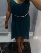 Asymetryczna sukienka zwiewna Mohito...