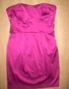 Śliczna sukienka różowa Orsay...