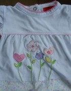 tshirt z kwiatuszkami 62...
