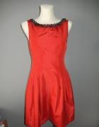 ZARA czerwona sukienka XS...
