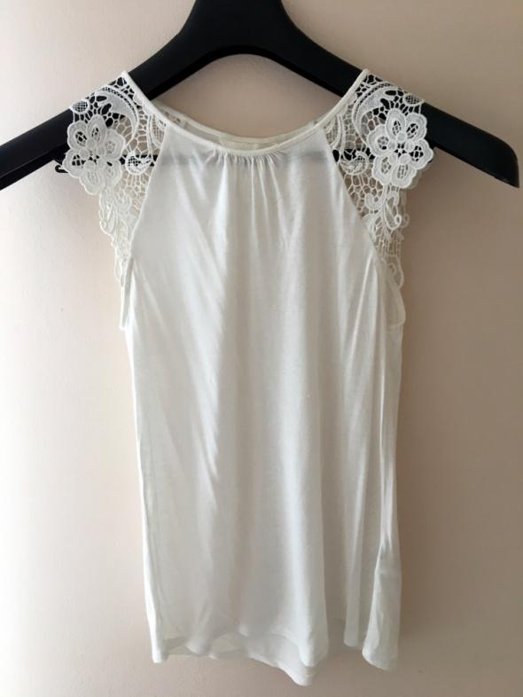 Bluzki Biała bluzka H&M XS