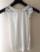 Biała bluzka H&M XS...