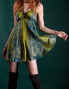 sukienka asymetryczna zwiewna elegancka letnia na lato czarna k...