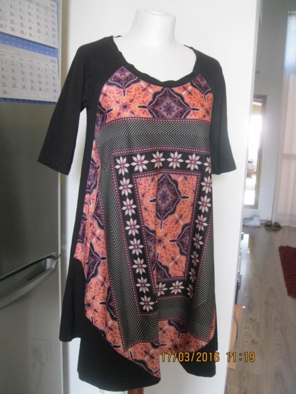 Suknie i sukienki SUKIENKA TUNIKA MONSOON 36 czarna
