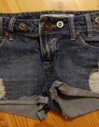 Jeansowe spodenki XS 34...