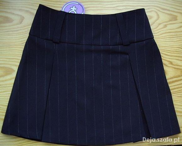 Spódnice Wonderwoman elegancka czarna mini XS NOWA