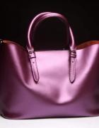 Piękna torebka na ramię fioletowa DARMOWA WYSYŁKA...