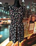 atmosphere sukienka kwiaty floral wycięcia jak nowa 40 L...