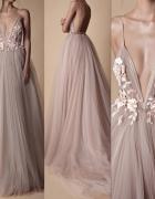 Bajkowa długa suknia...