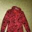 Czerwona dziewczęca kurtka we wzot 134 cm 9 10 lat