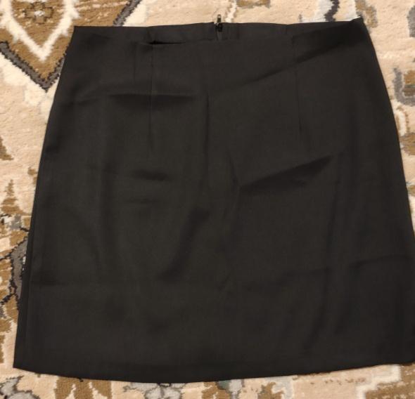 Spódnice Spódnica elegancka czarna mini do marynarki do garnituru