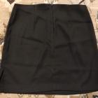 Spódnica elegancka czarna mini do marynarki do garnituru