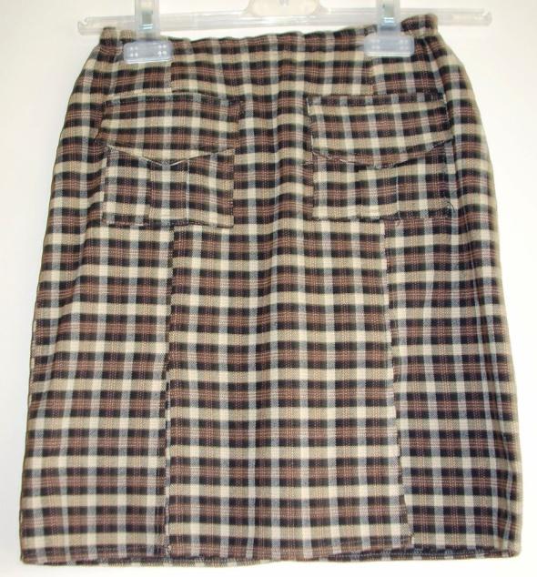 Spódnice Krótka spódnica w kratkę XXS