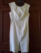 Biała sukienka wesele studniówka...