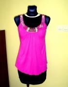 Tunika różowa asymetryczna...