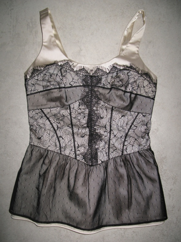 NEXT elegancka bluzka z koronką roz 34...