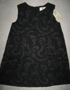 KAISELY czarna elegancka sukienka dla dziewczynki roz 98...