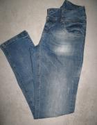 ORSAY jeansy damskie marmurkowe roz 34...