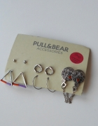 Pull and Bear komplet kolczyków zestaw...
