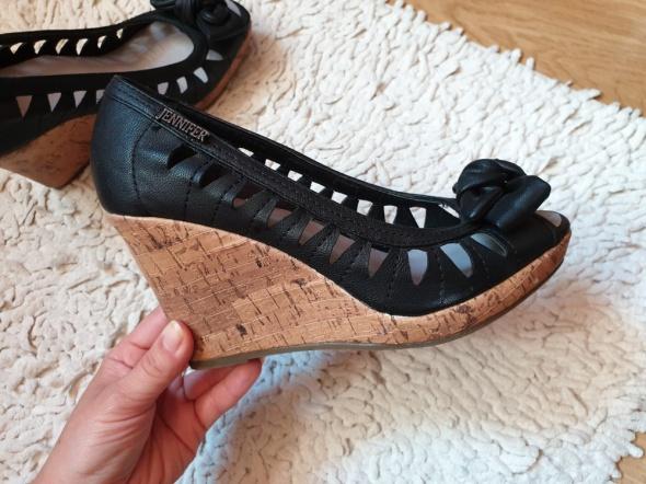 Buty na koturnie Jennyfer rozmiar 36 sanały...