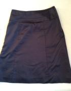 Granatowa spódniczka H&M...