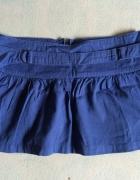 niebieska spodniczka...