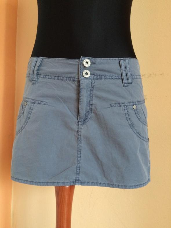Szaro niebieska spódniczka reserved