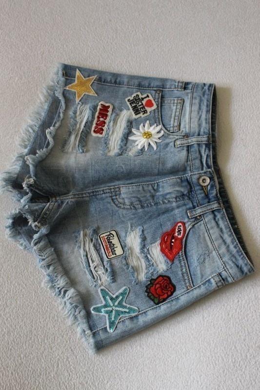 Spodenki krótkie spodenki jeansowe xs