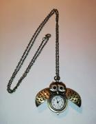 Naszyjnik zegarek sowa...