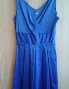 Niebieska sukienka XS kobalt...