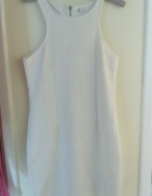 Biała sukienka cubus l