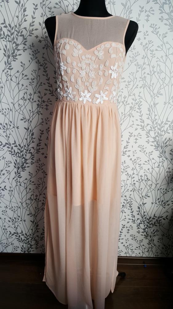Sukienka maxi Lipsy 38...