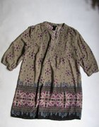 H&M Tunika w kwiaty boho hippie 40 42 44 jak nowa...