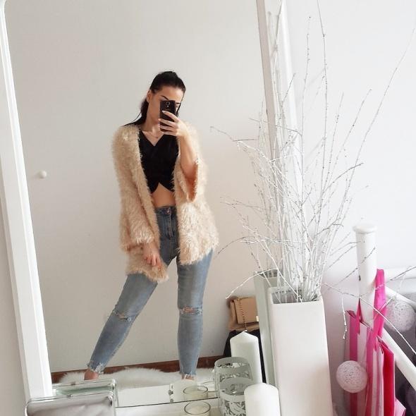 Swetry Włochaty sweter Lindex