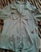 koszula bluzka militarna khaki...