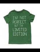 koszulka z napisem Im not perfect but...