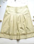 rozmiar 44 nowa elegancka spódnica oliwkowa...