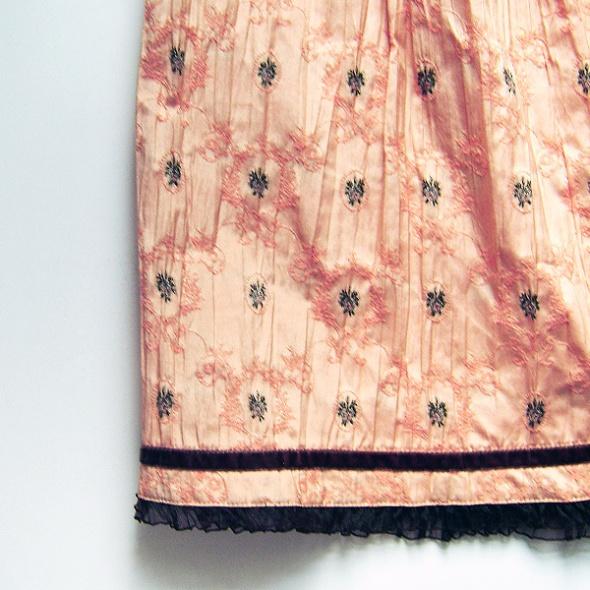 Spódnice rozmiar 40 nowa elegancka spódnica kolor morelowy