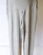 Spodnie Dresowe Dresy L 40 H&M Mama Szare Melanż Gumki...