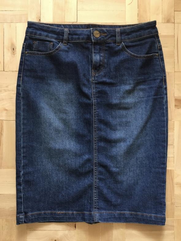 Spódnice Dżinsowa spódnica ołówkowa F&F