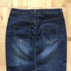 Dżinsowa spódnica ołówkowa F&F