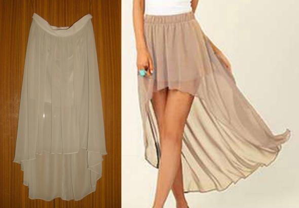 Asymetryczna spódnica mgiełka Orsay