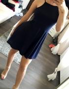 Granatowa sukienka SINSAY M...