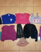 Zestaw ubrań dla dziewczynki 7 8 lat rozmiar 122 128 11 szt