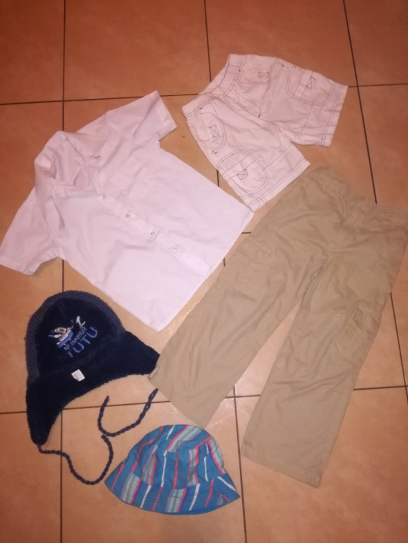 Zestaw ubrań 5 szt dla chłopca w wieku 6 7 lat rozmiar 116 122