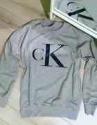 szara bluza CK