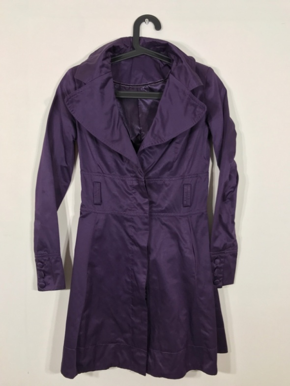 Odzież wierzchnia Fioletowy płaszcz NEW LOOK