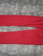 Spodnie Sexi Rurki Jaskrawe Czerwone Miss Selfidge...