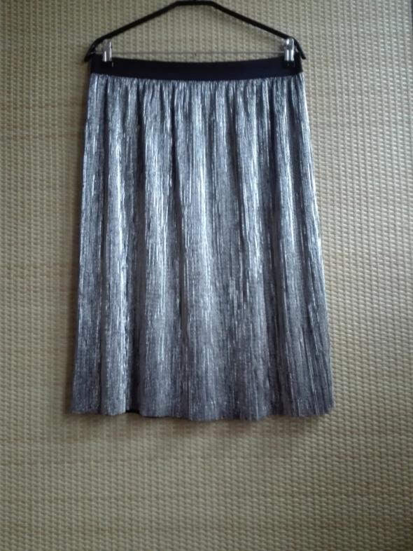 Spódnice spódnica z połyskiem