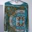ASOS sukienka dopasowana błękitna print łańcuchy rozm 38 M stan BDB